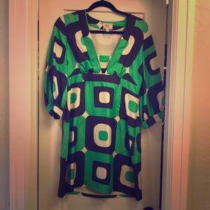 Milly geometric dress